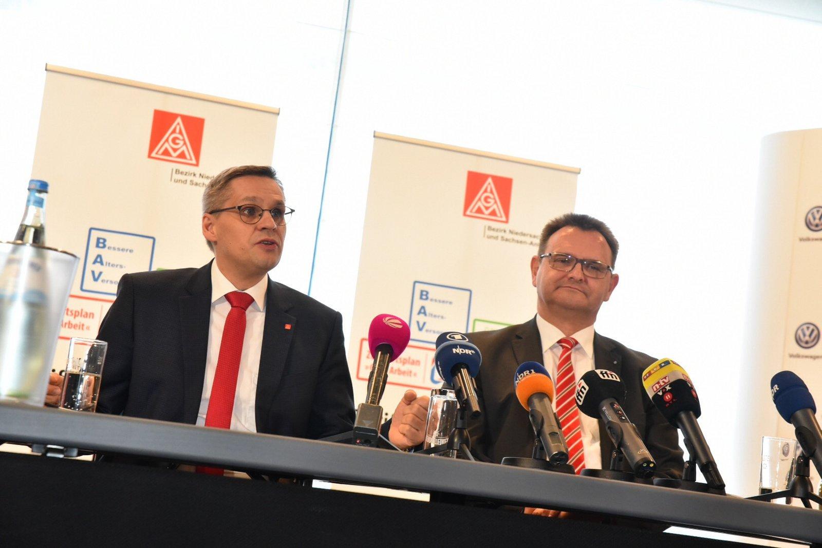 Ergebnis In Tarifverhandlungen Mit Der Volkswagen Ag Erzielt Igm